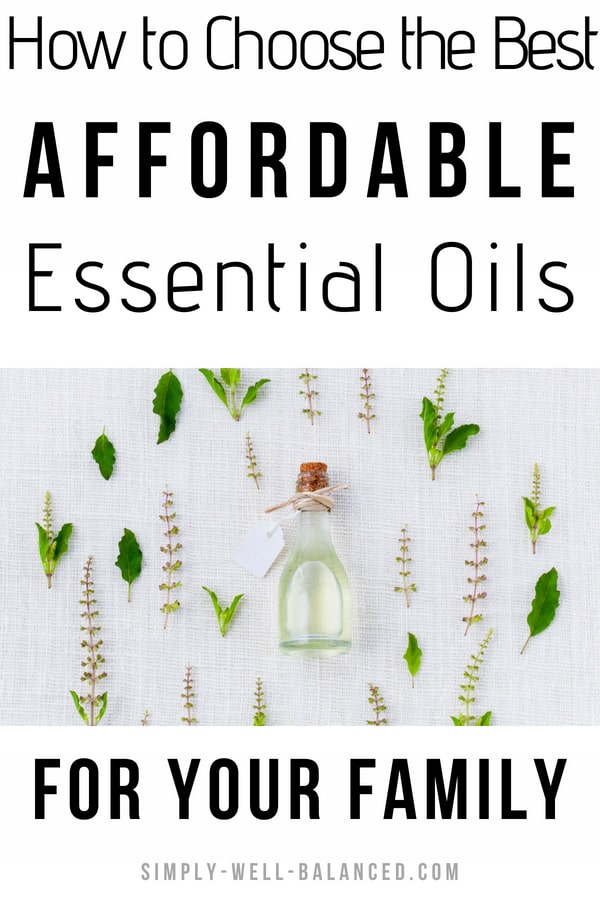 How to choose the best essential oils for beginners. Find affordable essential oils that are safe to use on children. Their roller blends are pre-diluted for you! I love using them in my diffuser and they have the best essential oils blends for treating headache, anxiety. You don\'t have to spend all your money on Young Living and DoTerra. There are other brands of oils that will give you great results. After doing all the research we use Plant Therapy essential oils. #essentialoils #frugalliving
