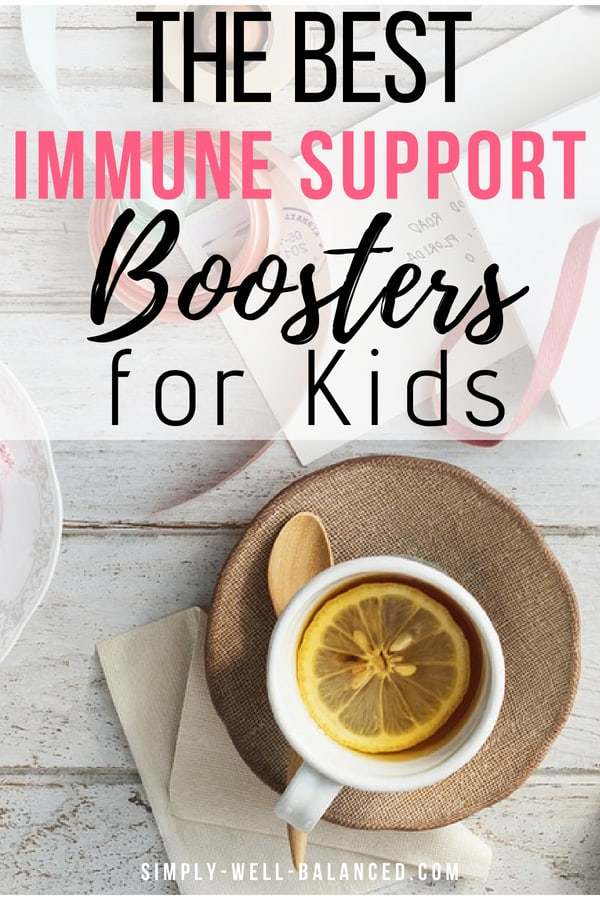 Our family\'s favorites immune system boosters for kids. During cold and flu season we rely on essential oils and other products to keep our children healthy. If you are looking for tips on how families can keep the germs away this is an excellent post with great product recommendations. It includes naturals products like black elderberry and to stay healthy this winter.