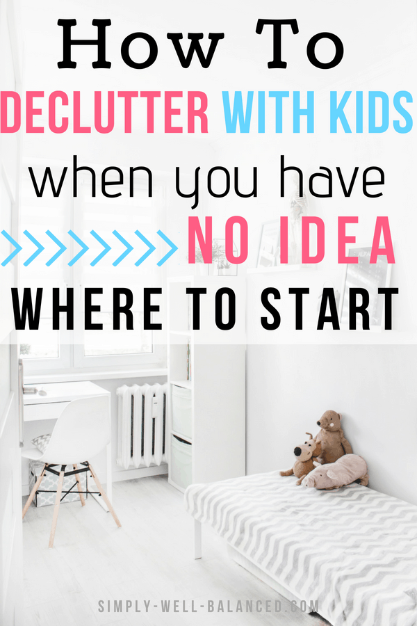 Looking for the best tips to declutter with kids? In this post 10 moms share their best organizing ideas to clear the clutter from your home once and for all. Get your life back with simple storage solutions for toys that will save you from cleaning all day long. Minimalist motivation from real moms. #declutter #organized #minimalist #momhacks #cleanhouse