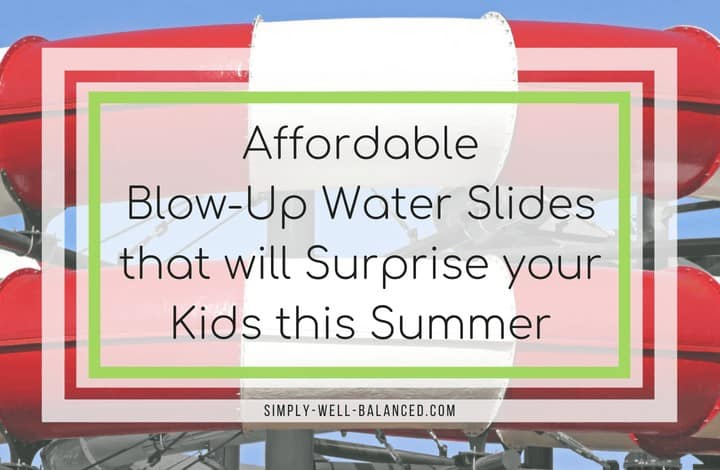 The Best  Blow Up Water Slides for your Backyard