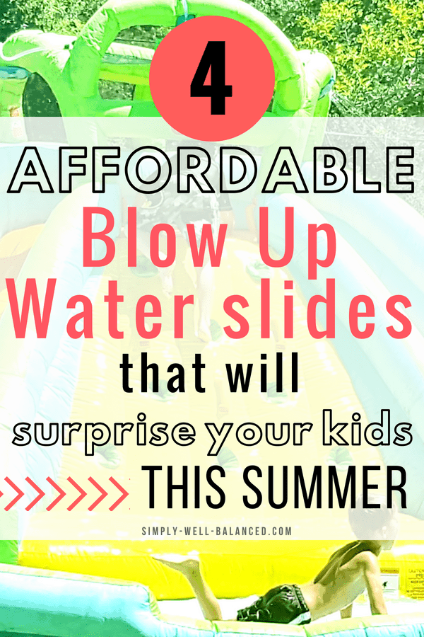 Blow Up Water Slides for Kids
