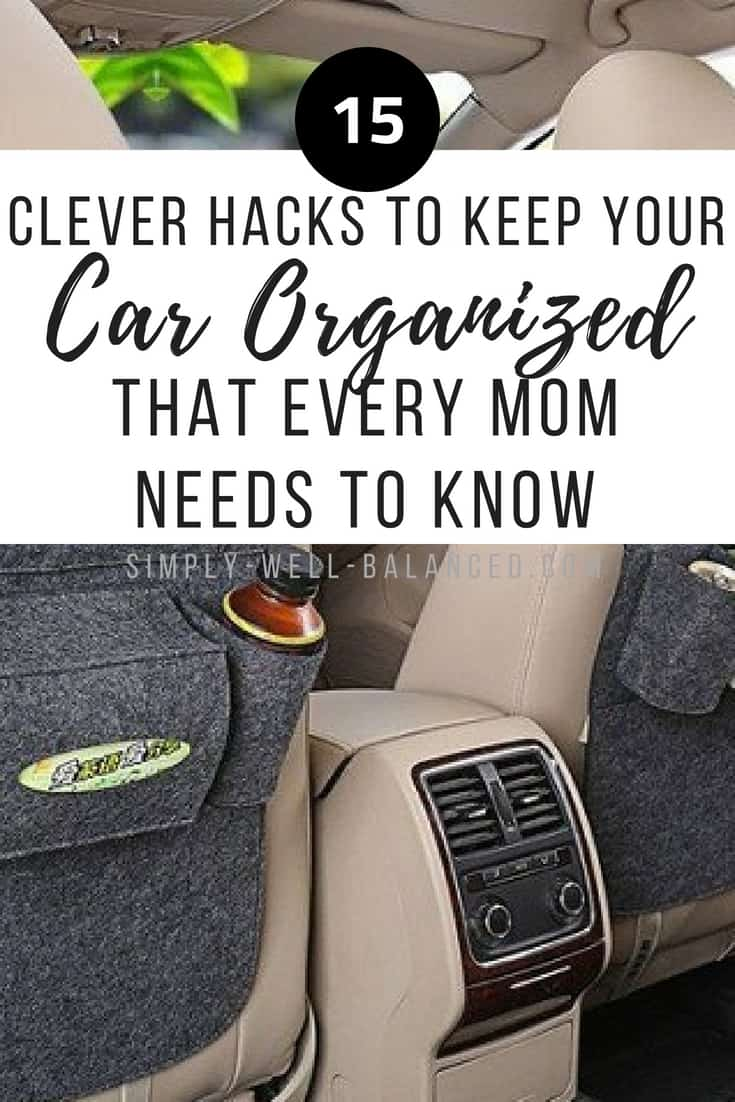 15 Clever Car Organization Hacks Every Mom Needs to Know