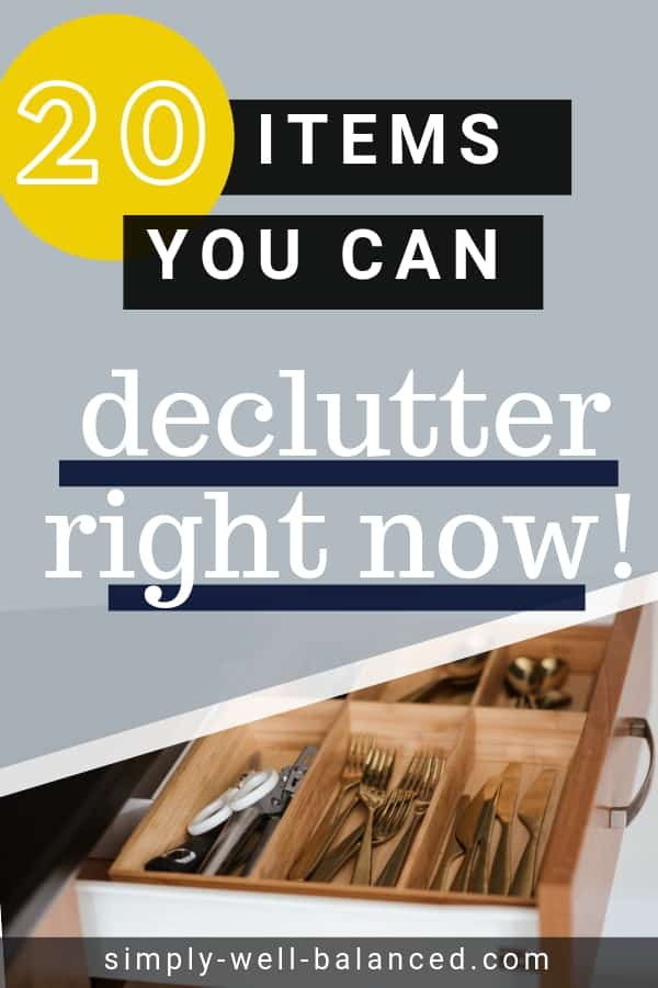 20 areas in your home you can declutter quickly