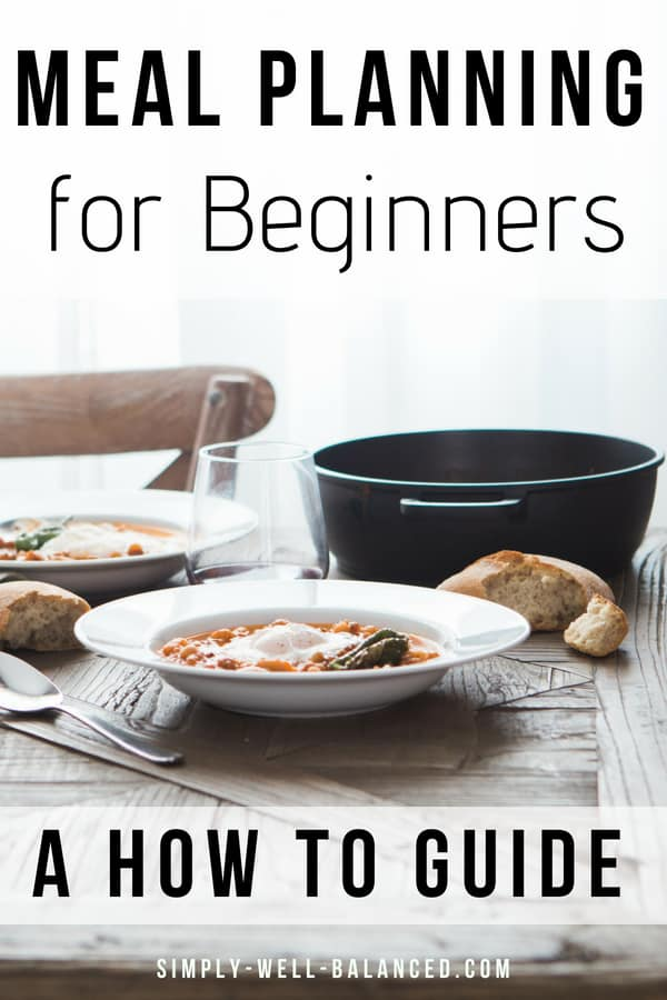 How to start meal planning for beginners. Simple ideas to start planning weekly dinners for your family. Learn how to choose recipes, create a menu and make your shopping list. Creating a meal plan is helpful for busy families on a budget. Eat at home, save money and be stress-free when it comes to cooking dinner #mealplan #familyfreshmeals #familygoals #mealprep