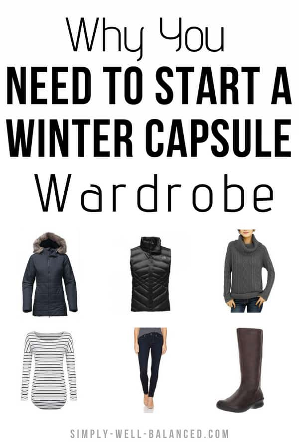 Why you need to Start a Winter Capsule Wardrobe