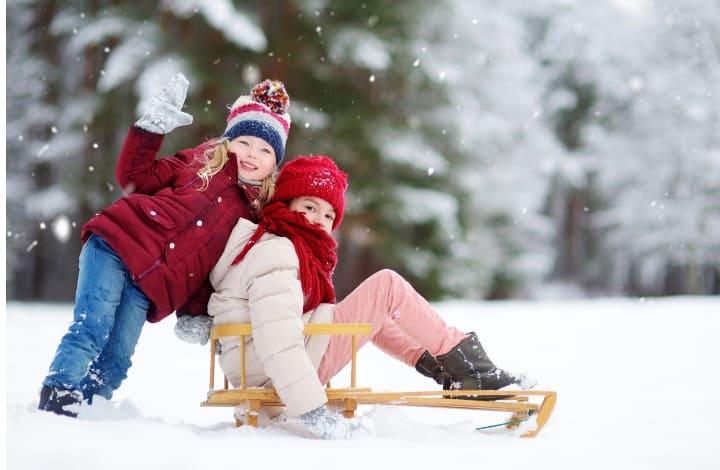 things to do over winter break sledding