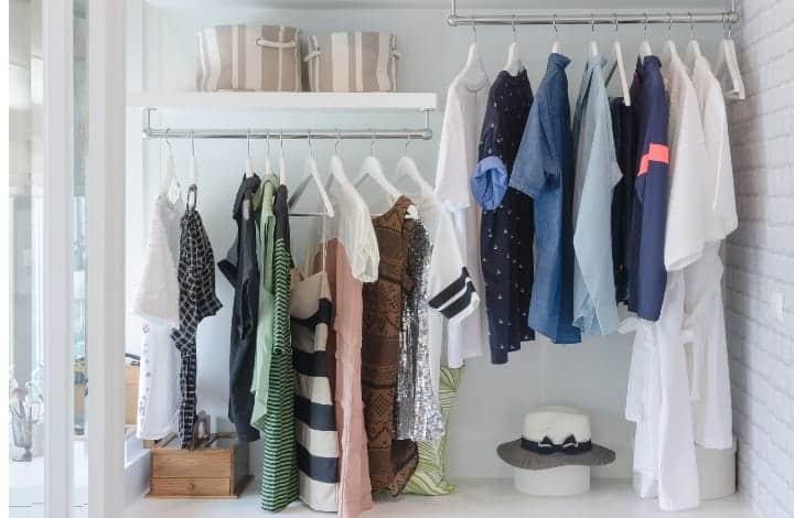 How to Declutter your Clothes Closet; For Real This Time!