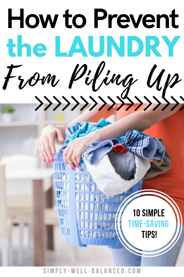 How to prevent laundry piles