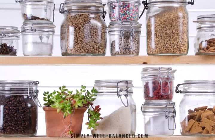 minimalist pantry ingredients