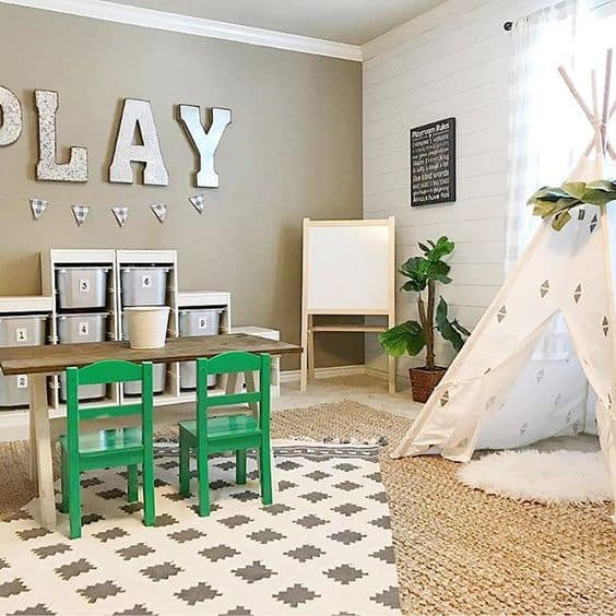 Gender neutral playroom