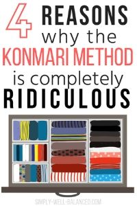 Reason why the KonMari Method doesn't work for families