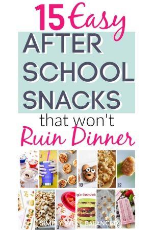 snacks that won't ruin dinner