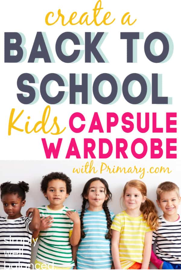 Primary.com has mix and match basics for kids to create a capsule wardrobe.