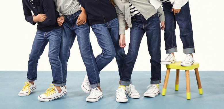 Primary.com jeans Feel Good Denim : jeans for kids who think they hate jeans