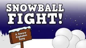 Harry Kindergarten - snowball fight song