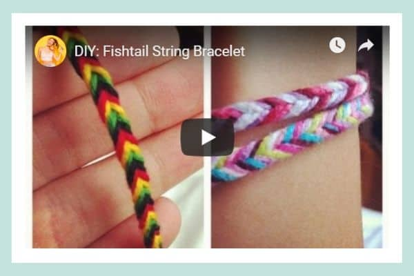 How to make a fishtail friendship bracelet