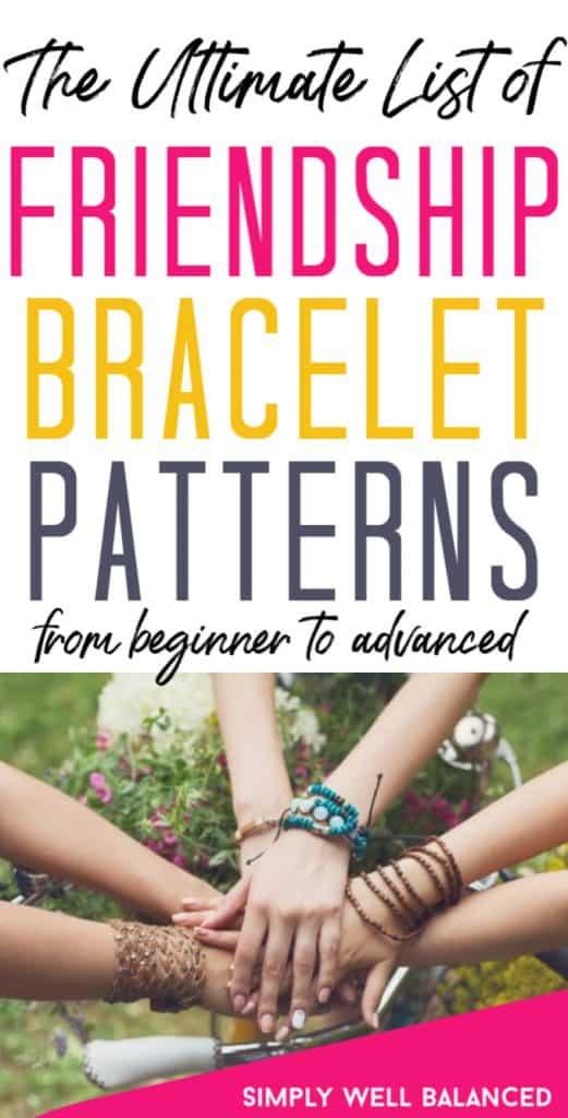 The ultimate list of friendship bracelet patterns