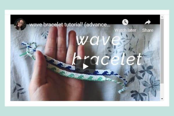 Wave Bracelet Tutorial (advanced pattern)