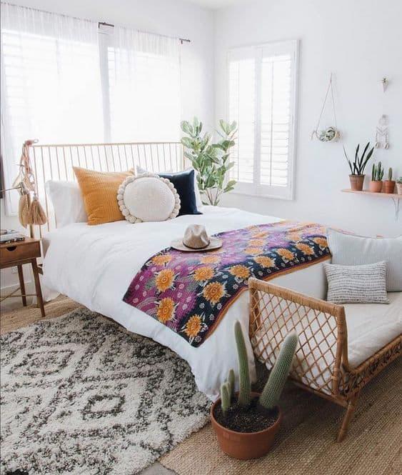 Boho Minimalist Bedroom Decor