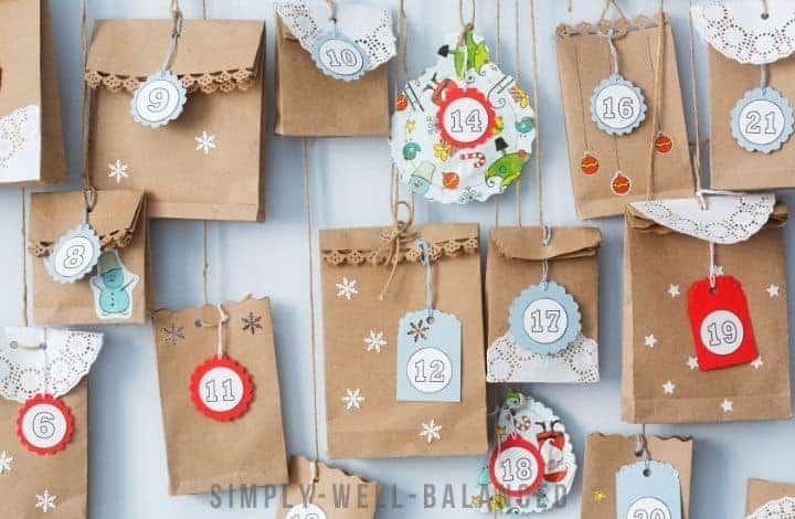15 Easy DIY Advent Calendars for Kids