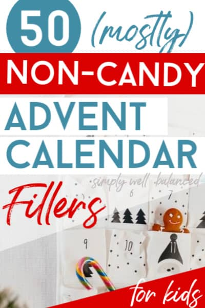Advent Calendar fillers for kids