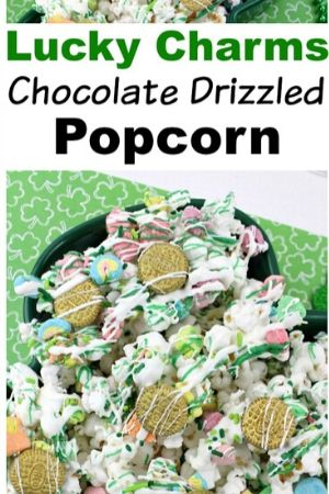 Lucky Charms Popcorn Snack Mix