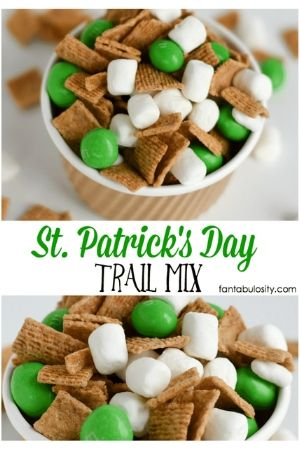 Easy St. Patrick's Day Trail Mix