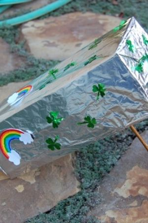 Easy leprechaun trap for kids
