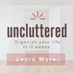 Uncluttered course enrollment