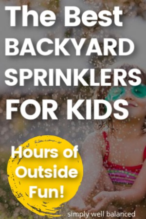 The best backyard sprinklers for kids