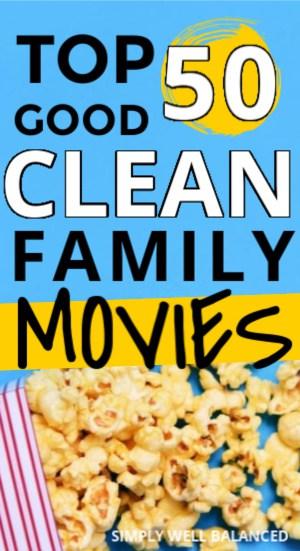 top 50 Good Clean Family Movies on Amazon Prime