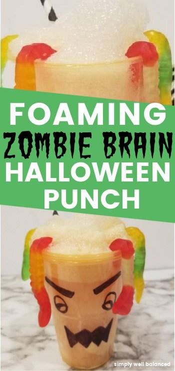 Foaming Orange Halloween Punch Recipe
