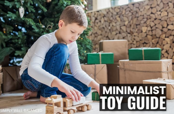 minimalist toy guide for kids