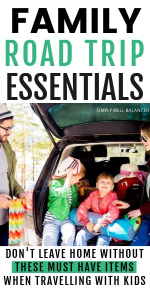 Family Road Trip Packing List Essentials