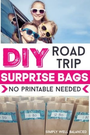 DIY Road Trip Surprise Bags for Kids