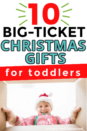 unique big-ticket christmas gifts for toddlers
