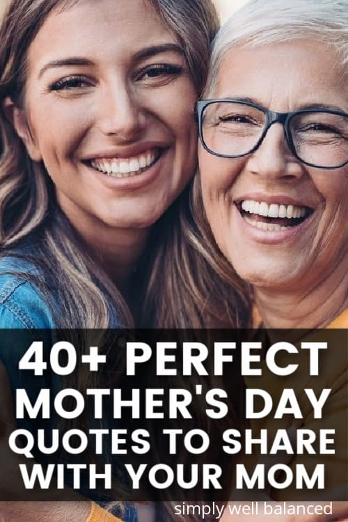 Happy Mother's Day Quotes from Daughter. Perfect Mother's Day Quotes for Your Mom.