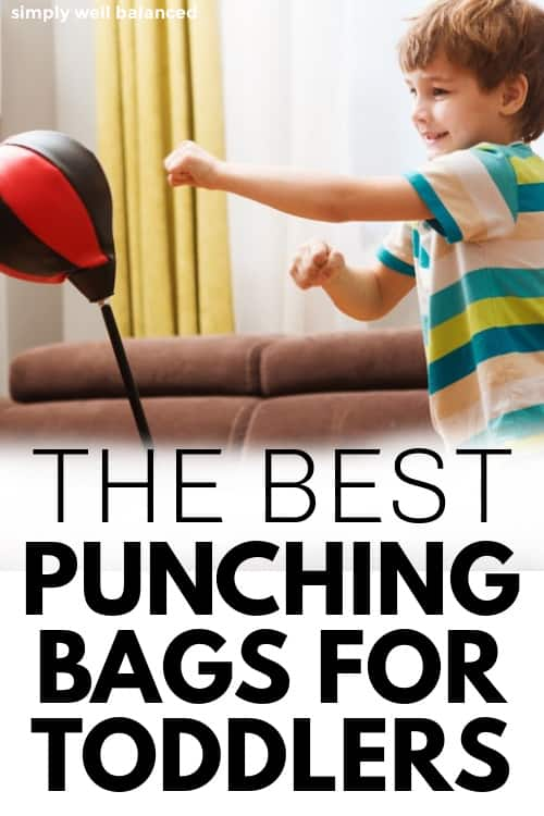 The best punching bags for toddlers