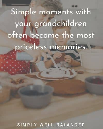 "Grandkids Quotes | ""Simple moments with your grandchildren often become the most priceless memories."""