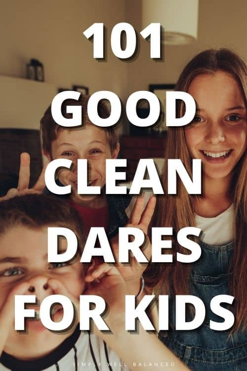 101 good dares for kids