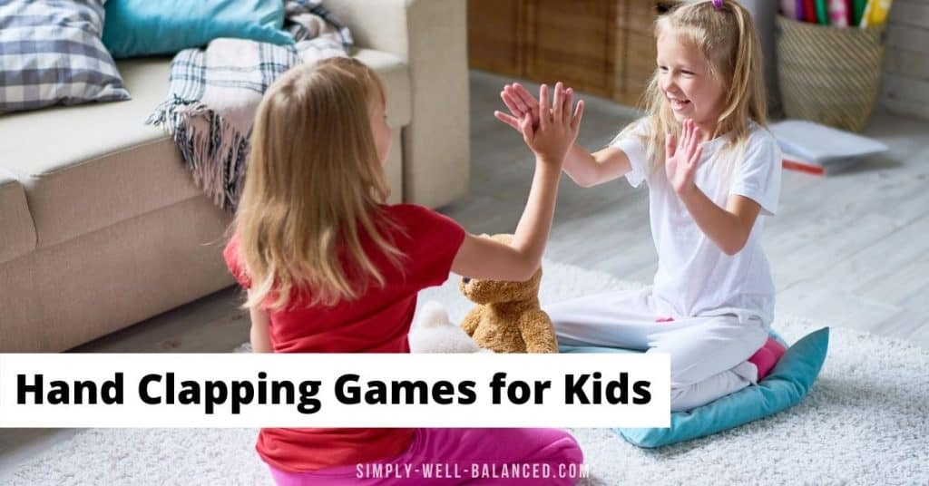 Hand clapping games for kids. Classic rhymes from the 80's and 90's
