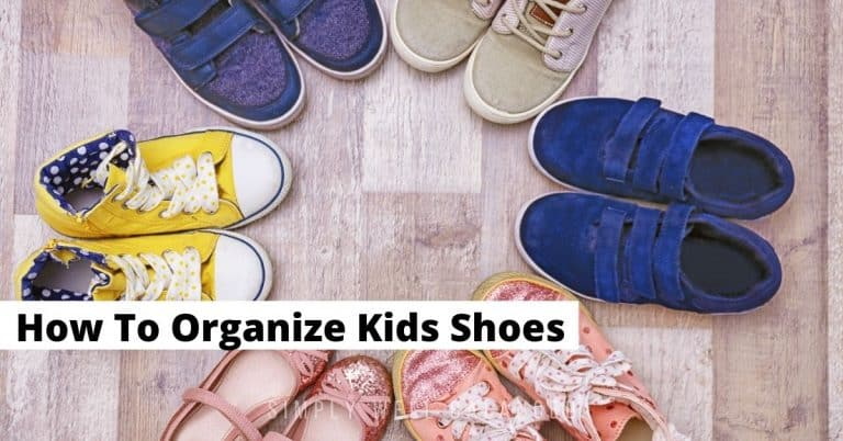 How to Organize Kids Shoes {So They Stay That Way}