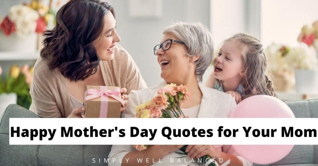 Happy Mother's Day Quotes from daughter.