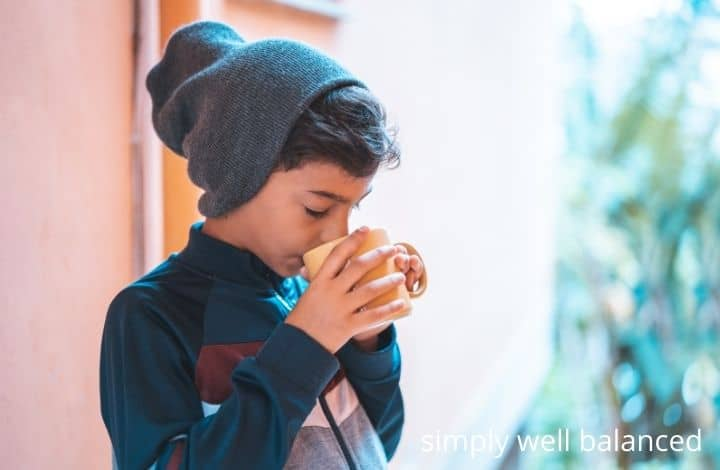 Ways for kids to relax: drink tea