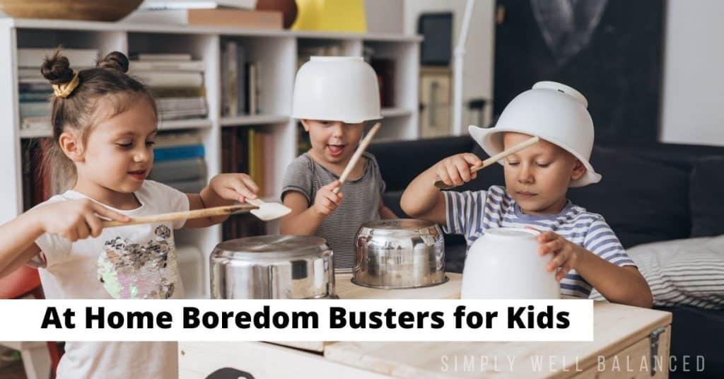 At home boredom busters for kids | pots and pans band.